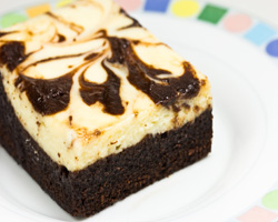 Brownie con Chocolate Blanco