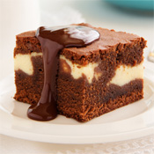 Brownie con Queso